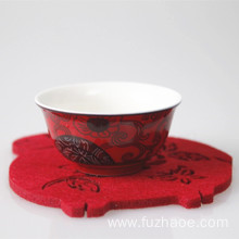 Chinese Professional for Red Coaster Handmade paper-cut commemorative gift zodiac coaster supply to Mauritius Importers