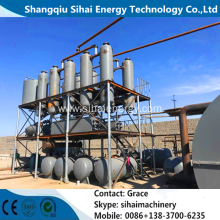Short Lead Time for Oil Distillation To Diesel Plant Black Tire Oil Distillation Plant supply to Rwanda Wholesale