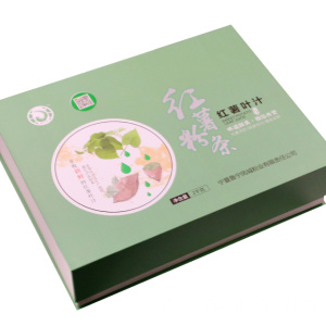 Sweet potato starch sliver sweet potato leaf juice gift box