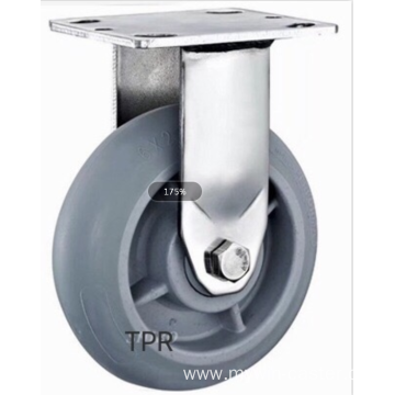 8  inch Stainless steel bracket PS heavy duty  casters without brakes