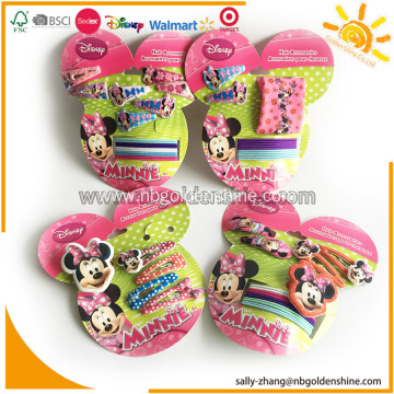 Mickey Mouse Hair Accessory Card