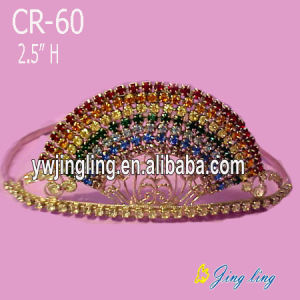 Pageant Crown Rainbow Shape