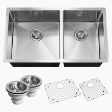 Metal Stamping Stainless Steel Square Double Sink
