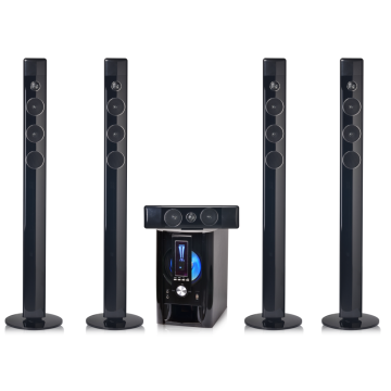 Wireless creative home theater 5.1 speaker system