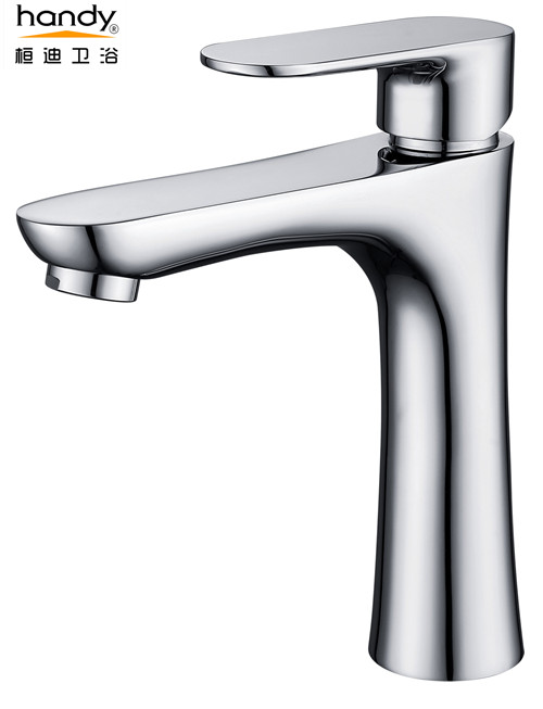 Basin Single Brass Nickel Cold Water Tap