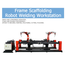 Good quality 100% for Robot Scaffolding Automatic Welding Machine Robotic Welding Workstation for Door Frame export to Bhutan Supplier