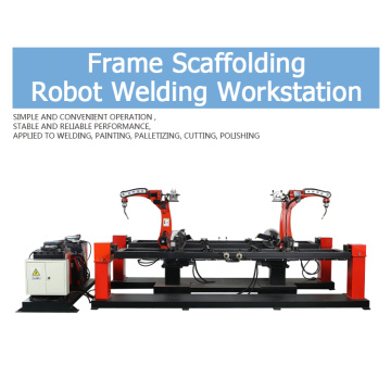 Robotic Welding Workstation for Door Frame
