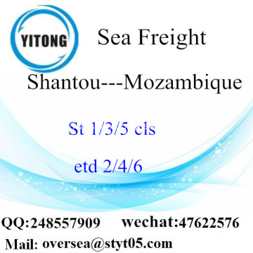 Shantou Port LCL Consolidation To Mozambique
