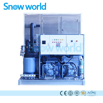Snow world 8T  Plate Ice Machine