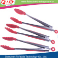 High Temperature Resistant Silicone Kitchen Tongs