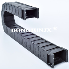 flexible plastic drag chain nylon cable carrier