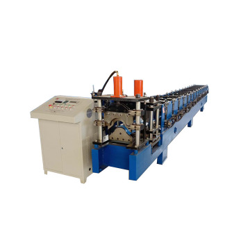 Metal Ridge Cap Roll Forming Machine With Ribs
