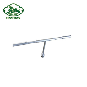 Galvanized Manual Tool For Ground Screw Piles