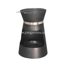 OEM for Patio Fire Pit Round Wood Burning Fire Pit With Cooking Grate export to Portugal Importers