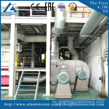 The most professional AL-2400 SS 2400mm PP Spunbond nonwoven fabric making machine with high quality
