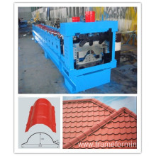 Hot 500mm ridge cap roll forming machine