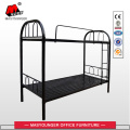 School Worker Use Black Metal Bunk Bed