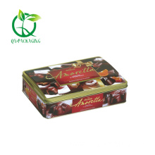 Xmas chocolate tin boxes