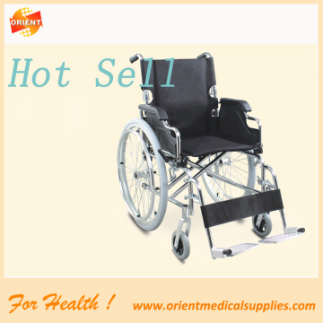 Steel Wheelchair standard economic manual wheelchair