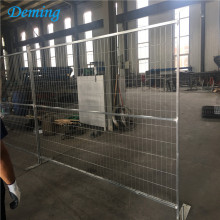 hot dip galvanized temporary fencing for safety protection