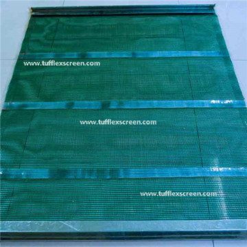 Partially Welded Polyurethane Vibrating Screen Mesh