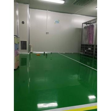 Indoor epoxy anti-static thin coating finish