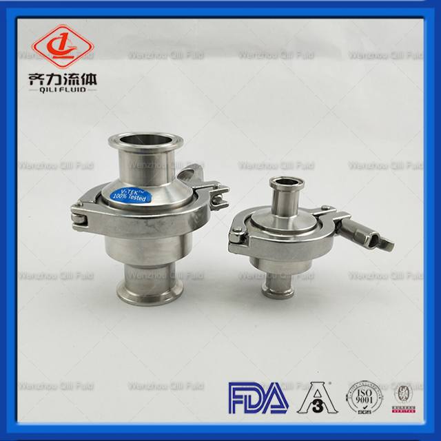 Sanitary Tri Clamped or Butt-Welded Ends Check Valves