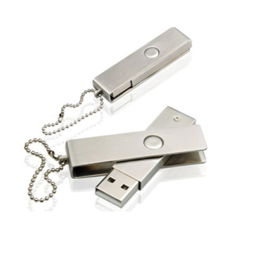 Metal USB Flash Drive with Free Logo