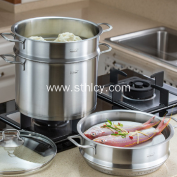 304 Stainless Steel Pot Steamer Pot