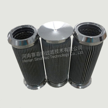 316L Pleated Sintered Fiber Felt Filter Cartridges