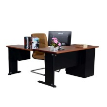 Manufactur standard for L Shaped Desk Metal Structure L Shaped Office Executive Desk supply to Singapore Suppliers