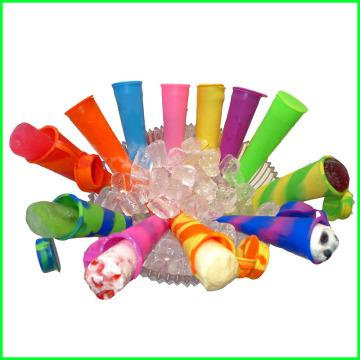 Wholesale Silicone Ice Sticks Maker with Lid