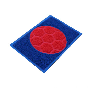 Pattern design joint noodle coil entrance mats