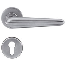 Solid Casting  Wooden Door Handle