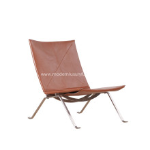 Poul Kjarholm PK22 Leather Lounge Chair Replica