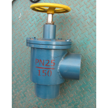 Super Purchasing for Ammonia Gas Globe Valve Ammonia Forged Steel Right Angle Throttle Valve supply to French Southern Territories Wholesale