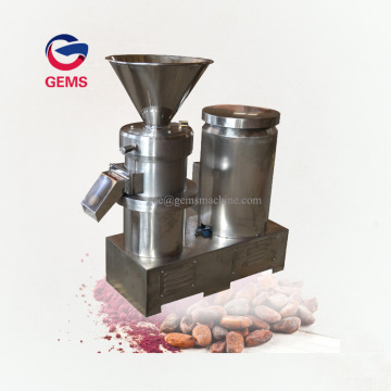 Colloid Mill Cacao Bean Grinder Processing Machine