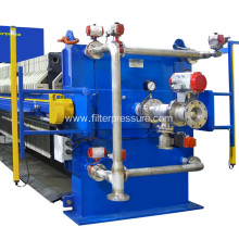 Filtration Cycle Flexible Diaphragms Sewage Filter Press