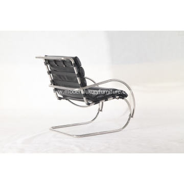 black leather  Mr lounge chair
