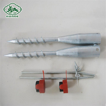Galvanized Ground Screw Anchor For Fence