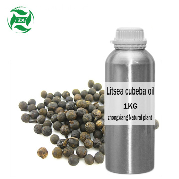 Organic therapeutic grade Litsea cubeba berry oil Wholesale