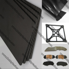 OEM manufacturer custom for Carbon Glass Sheet RC Drone Hobbby Parts Carbon Glass Sheet export to Italy Factory