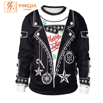 Autumn Christmas 3D Digital Printing Sweatshirts