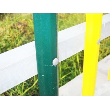 PVC Coated Metal Picket Fence Panels