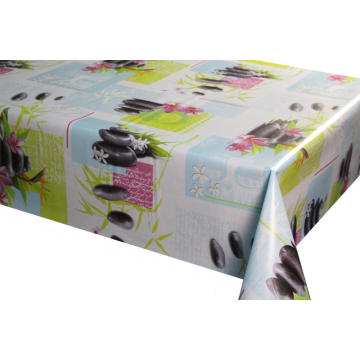 Strips Serials Design of Pvc Tablecloth
