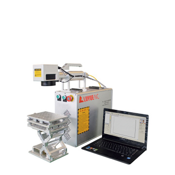 Color Portable Fiber Laser Marking Machine For Jewelry