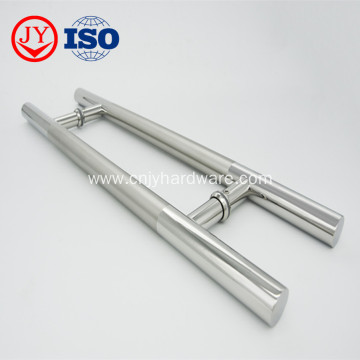 Stainless Steel H Shape Glass Door Handle