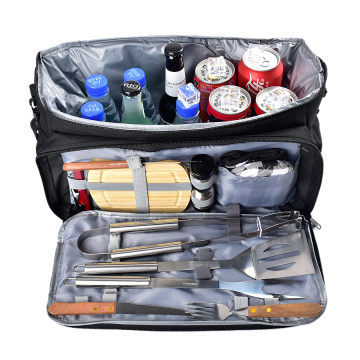11PCs BBQ Grill Accessories Tool Set with Bag