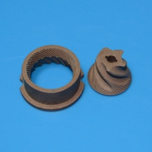 Brown alumina coffee maker ceramic grinding burr