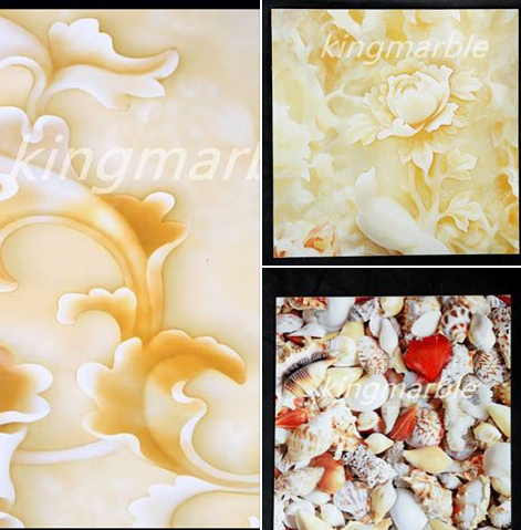 Hot Sale PVC 3D wall Panel decoration material